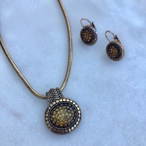 Jewelry set- necklace and earrings